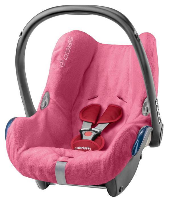 Maxi-Cosi Babyschale CabrioFix Sommerbezug Pink