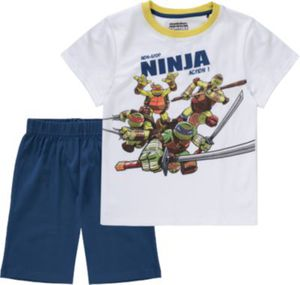 TEENAGE MUTANT NINJA TURTLES Schlafanzug Gr. 128/134 Jungen Kinder