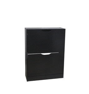 schuhschrank holz schwarz smartpersoneelsdossier. Black Bedroom Furniture Sets. Home Design Ideas