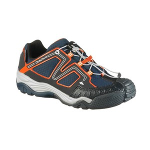 Wanderschuhe Crossrock Kinder blau/orange QUECHUA