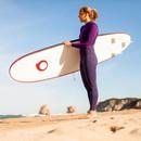 Bild 2 von TRIBORD Neoprenanzug Surfen 100 Neopren 2/2mm Damen violett, Größe: XS