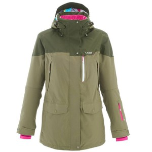 WED´ZE Skijacke Free 700 Damen grün, Größe: XS