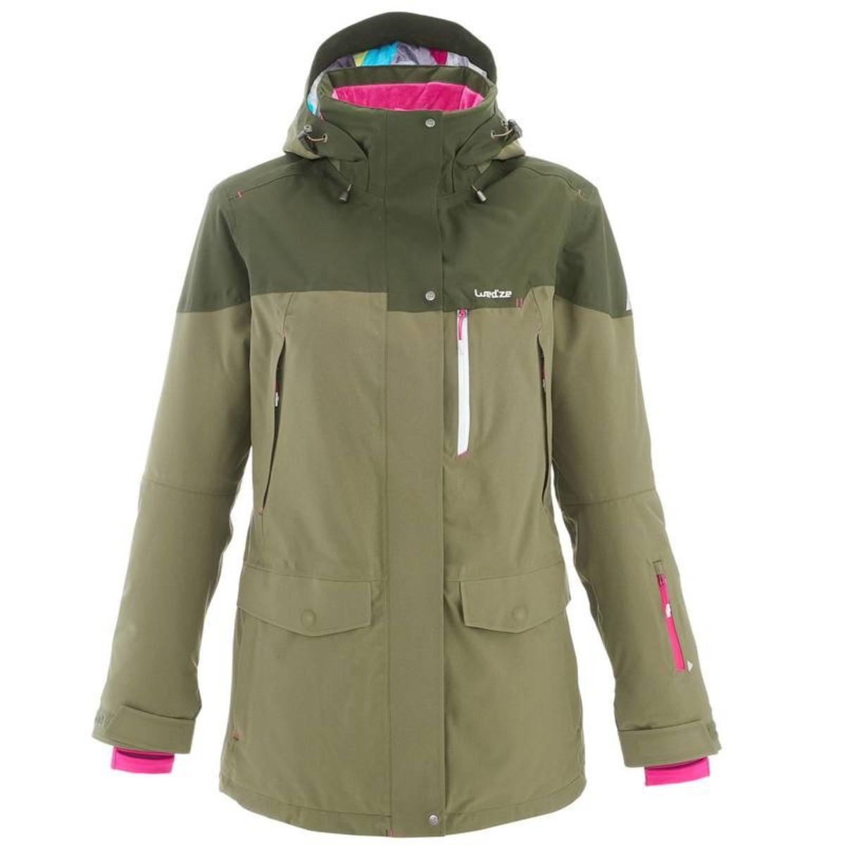 Bild 1 von WED´ZE Skijacke Free 700 Damen grün, Größe: XS