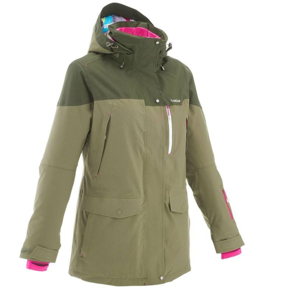 Bild 2 von WED´ZE Skijacke Free 700 Damen grün, Größe: XS