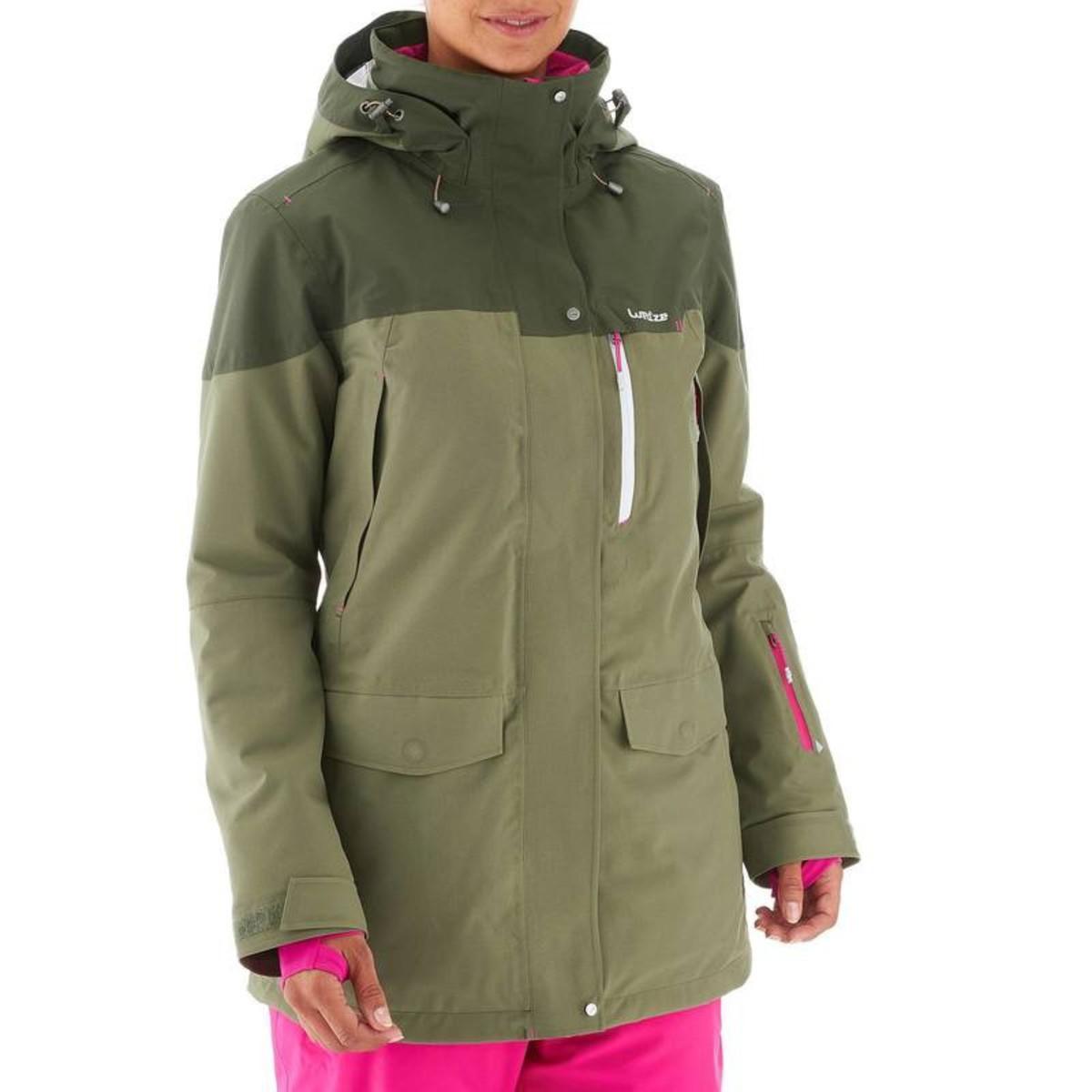 Bild 5 von WED´ZE Skijacke Free 700 Damen grün, Größe: XS