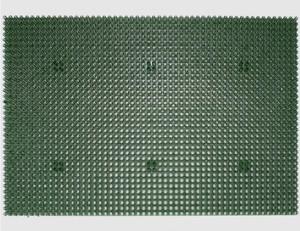 Grasmatte grün