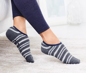 2 Paar Hausschuh-Socken