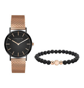 Liebeskind             Set Damenuhr und Armband LS-0010-MQB
