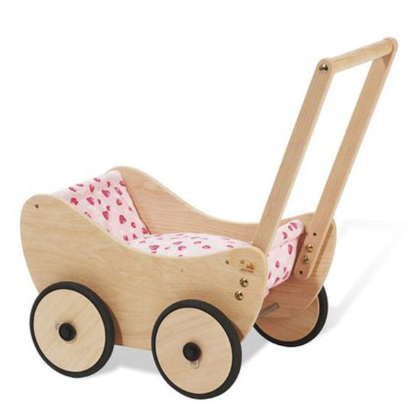 pinolino puppenwagen trixi aus holz von babywalz f r 55 49 ansehen. Black Bedroom Furniture Sets. Home Design Ideas