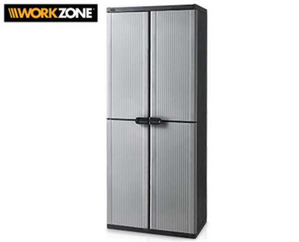 workzone haushaltsschrank von aldi s d ansehen. Black Bedroom Furniture Sets. Home Design Ideas