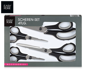 EASY HOME® Scheren-Set, 4-teilig