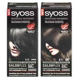 Syoss Coloration versch. Farben jede Packung
