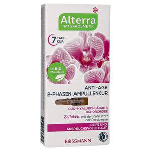Alterra Anti-Age 2-Phasen-Ampullenkur