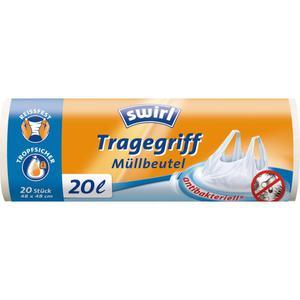 Swirl Müllbeutel mit Tragegriff 20L