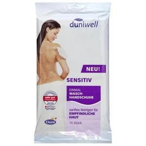 Duniwell Einmal Waschhandschuh sensitiv