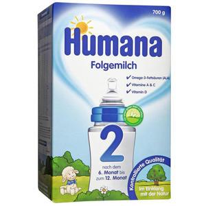 Humana Folgemilch 2 13.50 EUR/1 kg