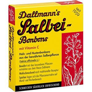 Dallmann`s Salbei-Bonbons 2.14 EUR/100 g