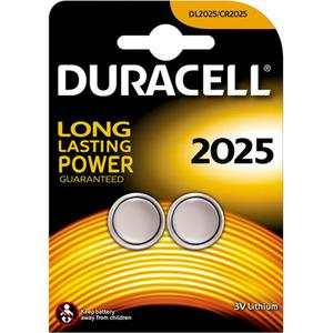 Duracell Specialty 2025 Lithium Knopfbatterie
