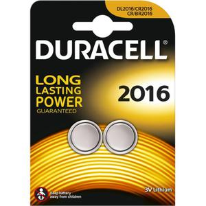 Duracell Specialty 2016 Lithium Knopfbatterie