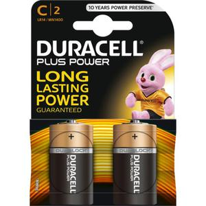 Duracell Plus Power Alkaline C Batterie