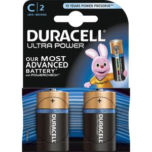 Duracell Ultra Power Alkaline C Batterie