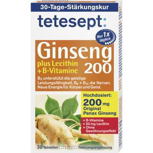 tetesept Giseng 200 plus Lecithin + B-Vitamine 35.53 EUR/100 g