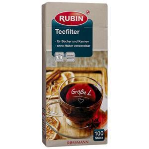 RUBIN Teefilter Größe L