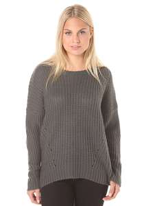 Element Farewell - Strickpullover für Damen - Grau