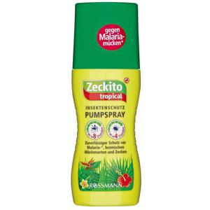 Zeckito Tropical Insektenschutz Pumpspray