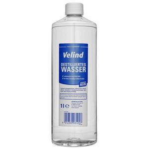 Velind Destilliertes Wasser 1l