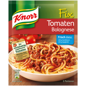 Knorr Fix Tomaten Bolognese 3 Portionen