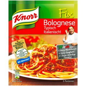 Knorr Fix Bolognese Typisch Italienisch 3 Portionen