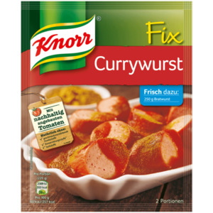Knorr Fix Currywurst 36g