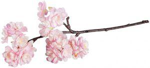 Kirschblütenzweig - aus Kunststoff - 40 cm - in rosa