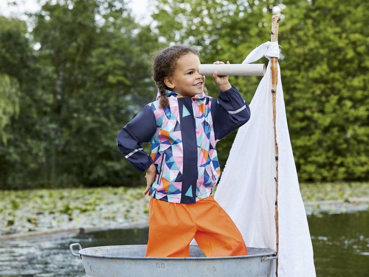 Bild 3 von LUPILU® Kleinkinder Mädchen Matsch- und Buddeljacke