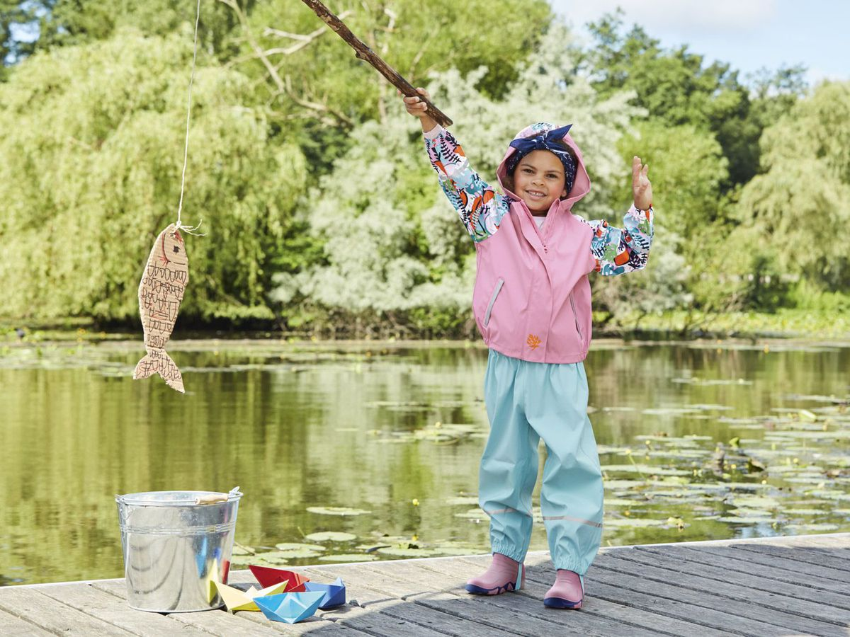 Bild 5 von LUPILU® Kleinkinder Mädchen Matsch- und Buddeljacke