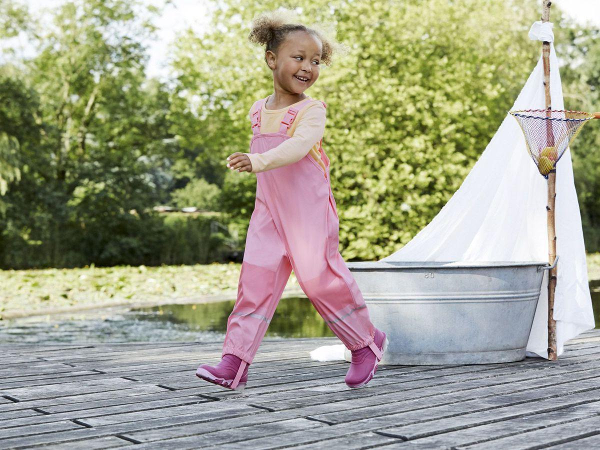 Bild 3 von LUPILU® Kleinkinder Mädchen Matsch-und Buddelhose