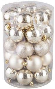 Bunte Christbaumkugeln Kunststoff.Weihnachtskugeln Angebote Von Rofu