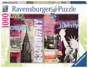 Puzzle - Style Collage New York - 1000 Teile - Ravensburger