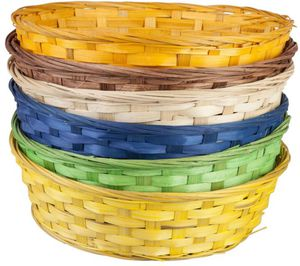 Osterkörbchen - aus Bambus - 30 x 9 cm - 1 Stück
