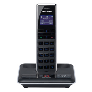 medion dect telefon mit video t rsprechanlage von aldi nord ansehen. Black Bedroom Furniture Sets. Home Design Ideas