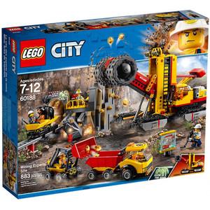 LEGO City - 60188 Bergbauprofis an der Abbaustätte