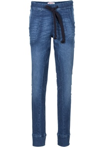 Boyfriend Stretch-Schlupfjeans
