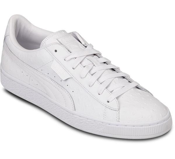 puma sneaker basket weiß