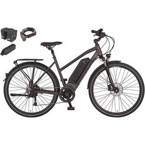 Prophete E-Bike Alu-Trekking 28 AEG Entdecker e8.7 inkl. Zweitakku und Zubehör