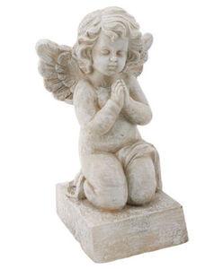 Dekofigur - kniender Engel - ca. 27 x 24 x 47 cm