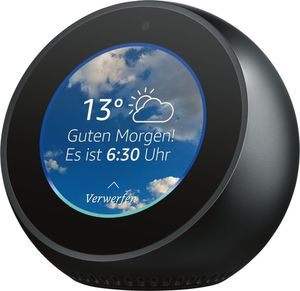 Amazon                     Echo Spot                                             Schwarz
