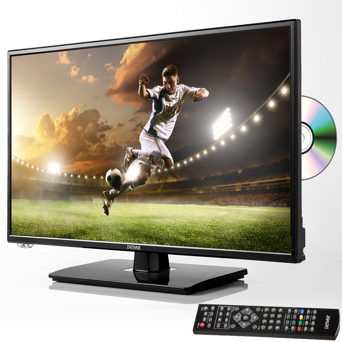 "Bild 1 von Denver 23,8"" LED-TV + DVD-Player mit Triple Tuner"