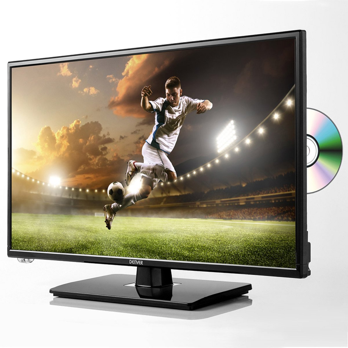 "Bild 2 von Denver 23,8"" LED-TV + DVD-Player mit Triple Tuner"