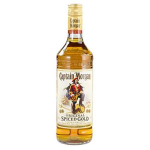 Captain Morgan Spiced Gold 35 % Vol., jede 0,7-l-Flasche